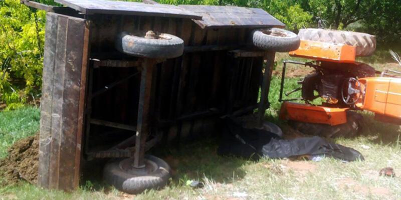 Niğde'de traktör altında kalan kadın hayatını kaybetti
