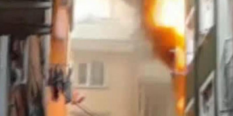 Kasımpaşa'da büyük yangın