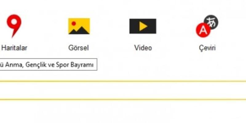Google 19 Mayıs'ı unuttu