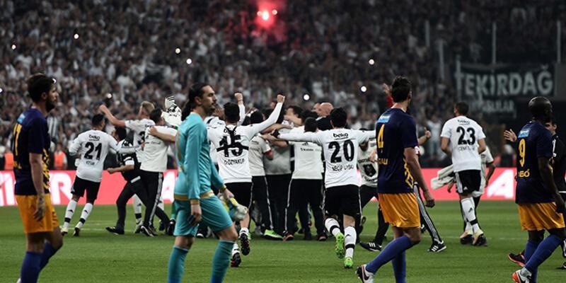 Beşiktaş'ın şampiyonluğu cezasız kalmadı