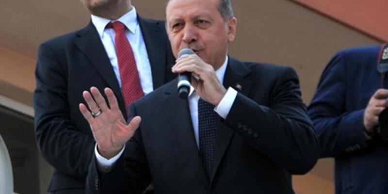 Erdoğan'dan mesajlar