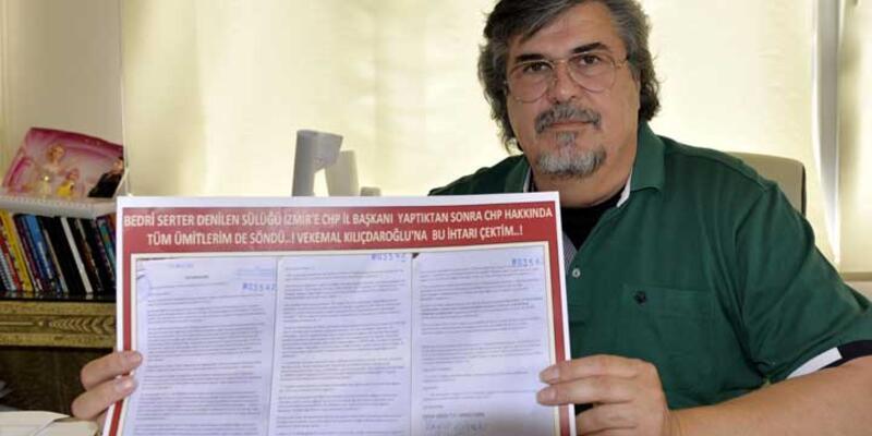 Protestocu heykeltıraş: CHP'li belediye alacağımı vermedi