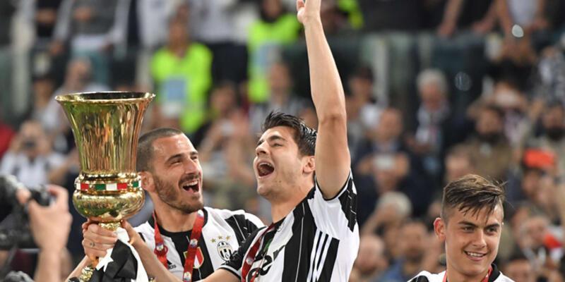 İtalya Kupası Milan'ı 1-0 yenen Juventus'un