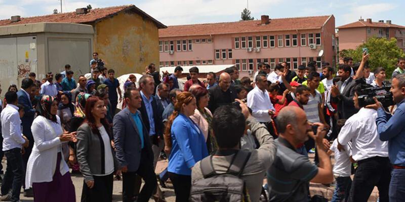 Siirt'te olaylı yürüyüş