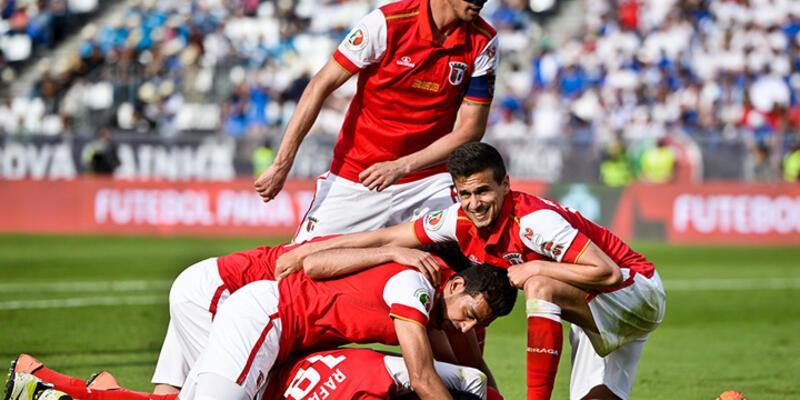 Portekiz Kupası'nın sahibi Braga