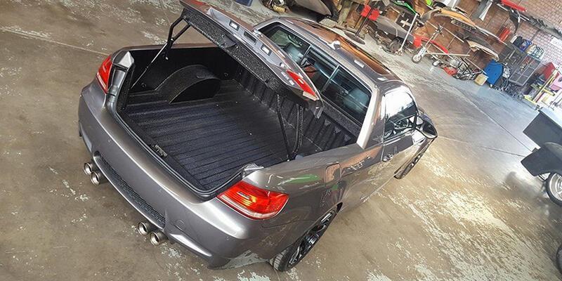 BMW E92 M3' ü kamyonete çevirdiler!