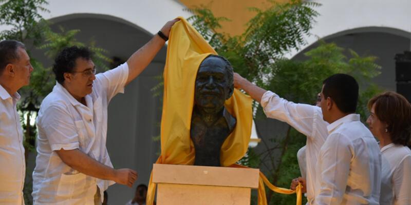 Gabriel Garcia Marquez'in külleri Kolombiya'ya döndü