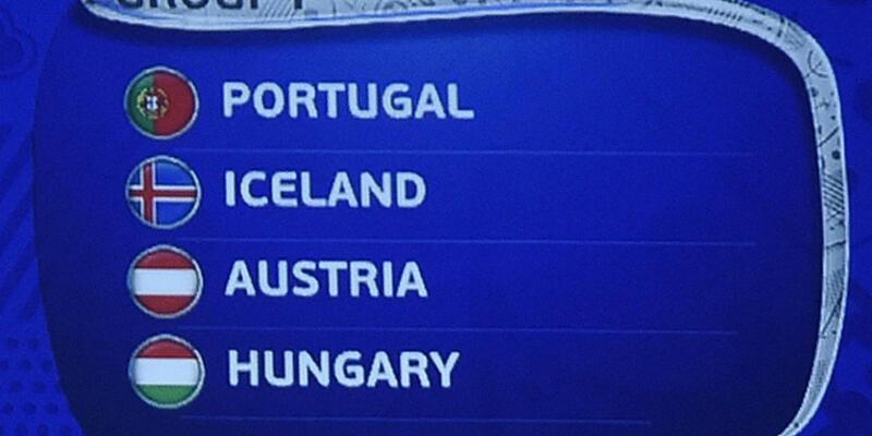 Euro 2016 F Grubu fikstürü