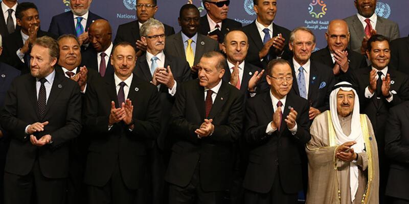 Cumhurbaşkanı Erdoğan Birleşmiş Millet İnsani Zirvesi'nin açılışında konuştu