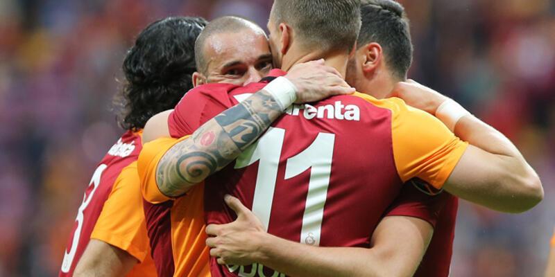 Galatasaray'ın gol raporu