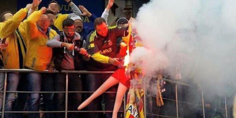 Cansız mankene Galatasaray forması giydiren taraftara hapis cezası