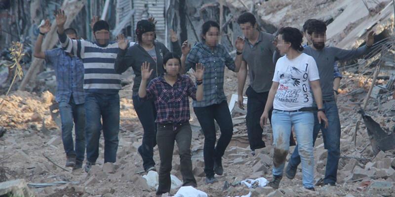 Nusaybin'de 26 terörist teslim oldu