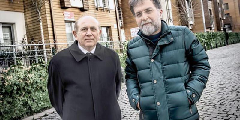 Ahmet Hakan'dan Burhan Kuzu'ya: Hocam! Yine sizi bakan yapmadılar!