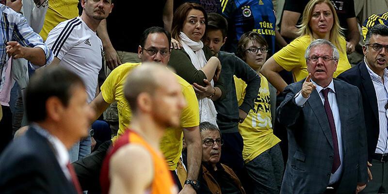 Galatasaray Aziz Yıldırım'ı kınadı