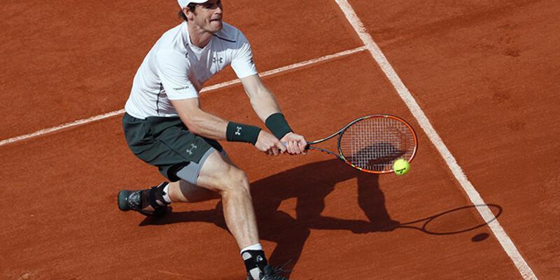 Andy Murray yine zorlandı