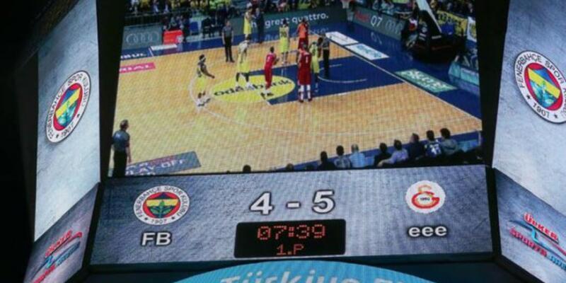 Fenerbahçe - Galatasaray maçında garip olay
