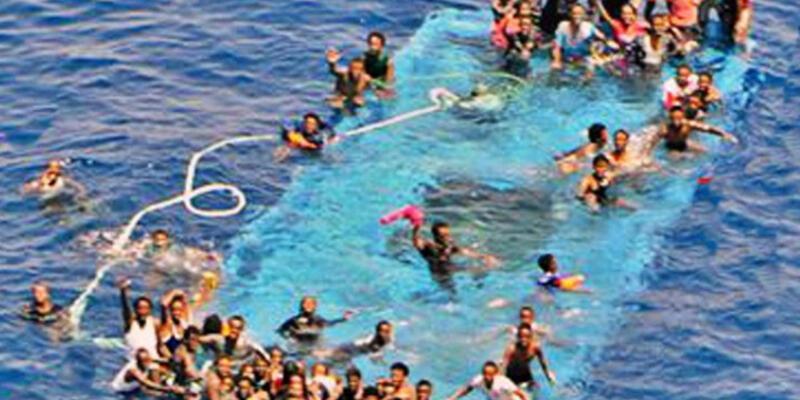 Libya'da 20 mülteci boğuldu