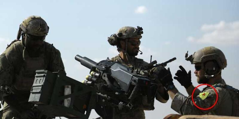Pentagon Sözcüsü'nden YPG simgesi açıklaması