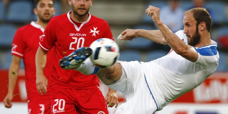Çekler'den Malta'ya gol yağmuru