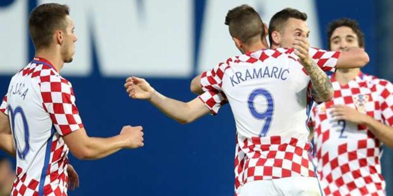 Hırvatistan tek golle kazandı