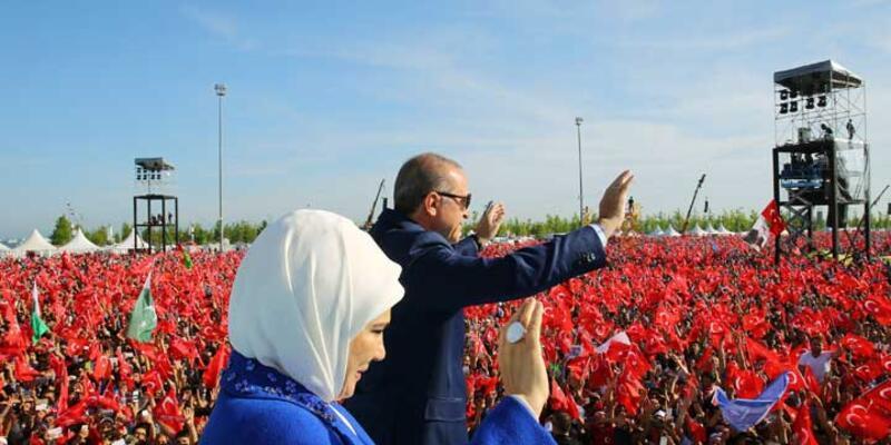 Yenikapı'da İstanbul'un fethi şöleni