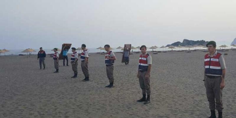 İztuzu Plajı'nda tahliye başladı
