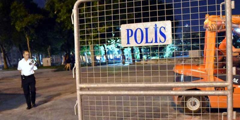 Gezi Parkı'na polis bariyerleri