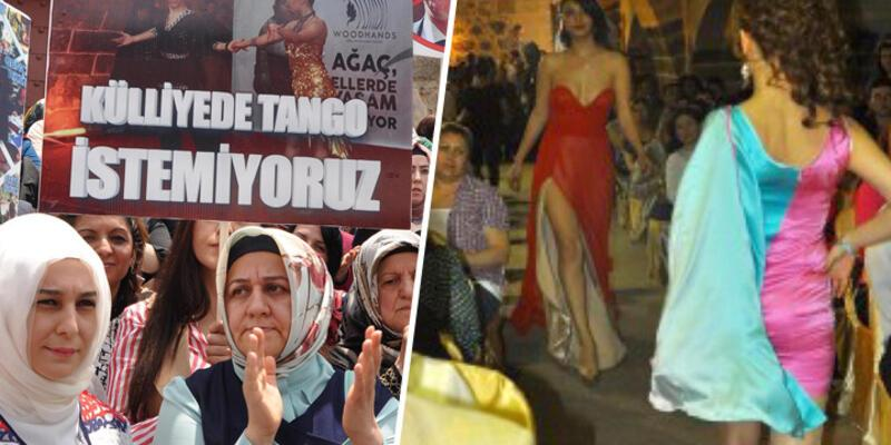 CHP'li belediyeden AK Partili kadınların protestosuna fotoğraflı yanıt