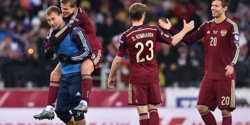 Rusya'nın 23 kişilik Euro 2016 kadrosu