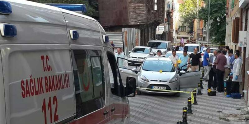 Maltepe'de otomobilde infaz