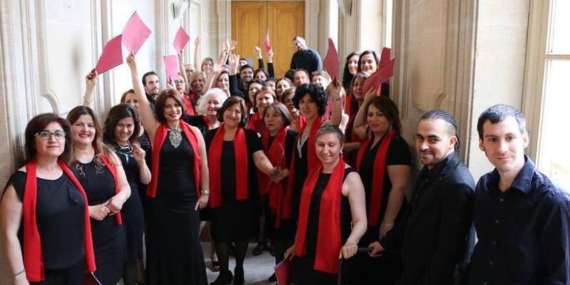 Paris Frankotürk Türk Müziği Korosu'ndan Sadettin Kaynak konseri!