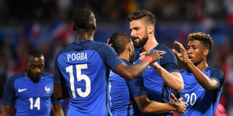 Fransa'dan 3 gollü prova