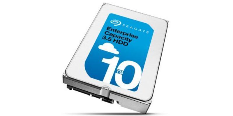Seagate'den 10tb'lık disk