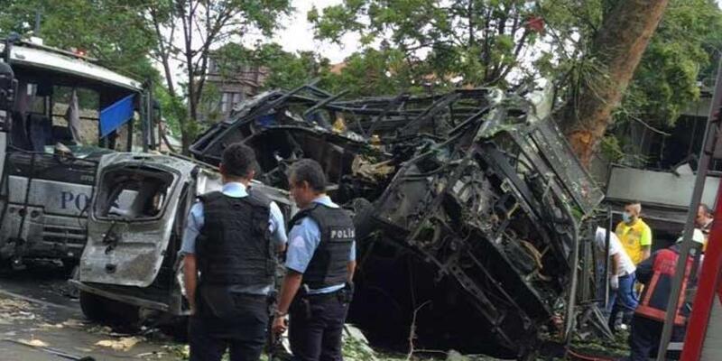 Bombalı aracın izini süren polis teröristlerin görüntülerine ulaştı
