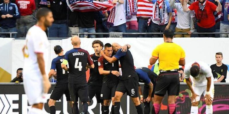 ABD hırs yaptı... Copa America: ABD - Kosta Rika: 4-0