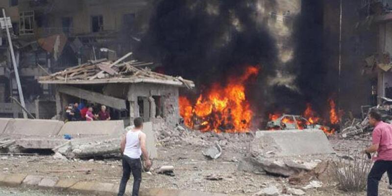 Mardin Midyat'ta bombalı saldırı