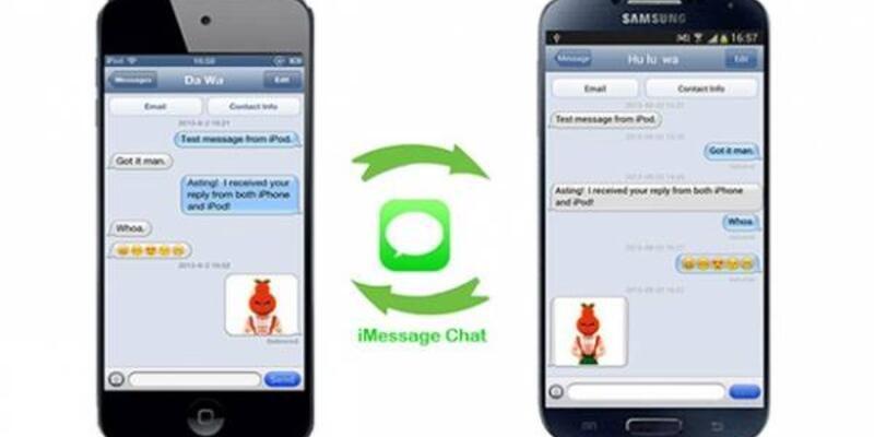 Apple'ın iMessage'ı Android'e geliyor