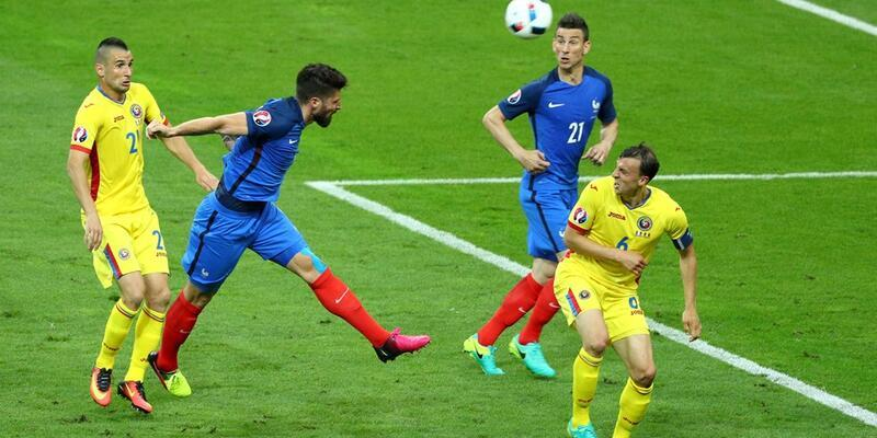 Payet resital verdi... Euro 2016: Fransa - Romanya: 2-1