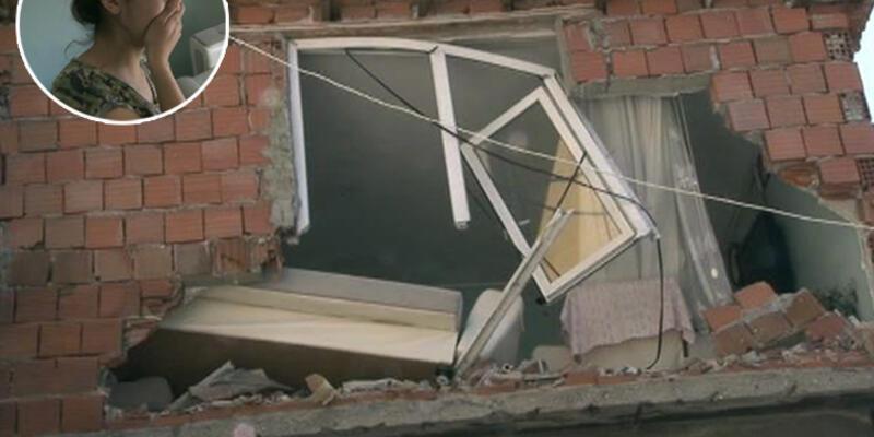 Kiralik ev aramaya gitti, evini yıkılmış halde buldu