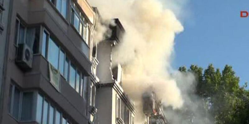 İstanbul Cihangir'de patlama: 1 kişi öldü