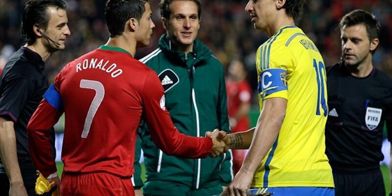Ronaldo ve İbrahimovic rekor peşinde