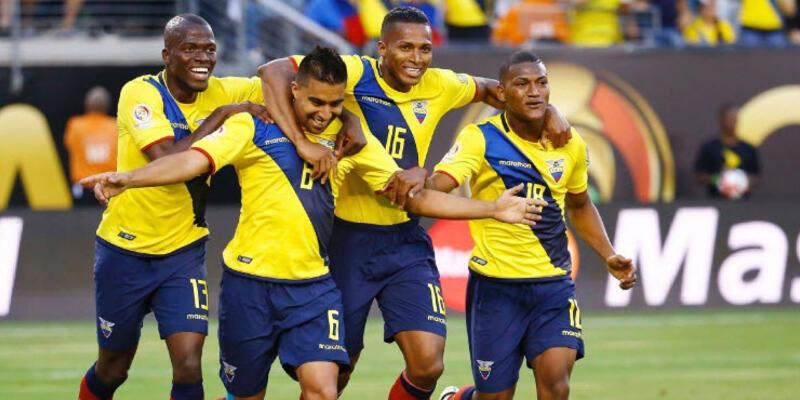 Ekvador tur atladı... Copa America: Ekvador - Haiti: 4-0