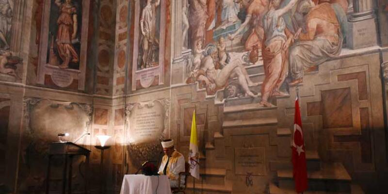 Vatikan'da Kur'an ve ezan
