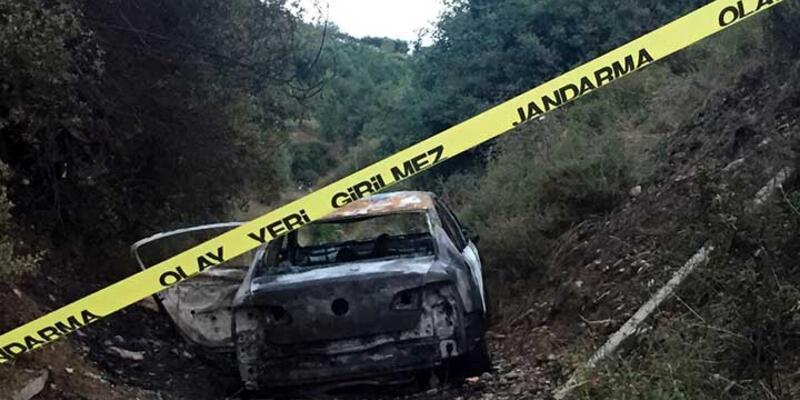 Yakılan otomobildeki ceset soruşturmasında 4 gözaltı