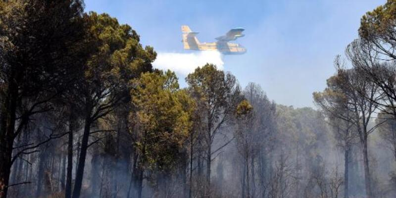 Antalya Kundu'da yangın