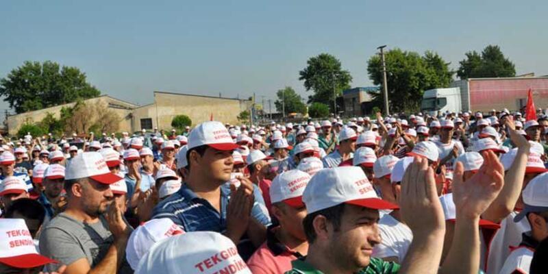 Nestle Karacabey fabrikasında grev başladı