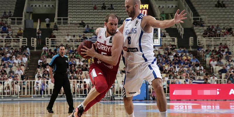 A Milli Takım basketbolda Yunanistan'a 78-52 kaybetti