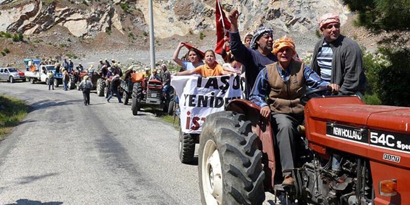 Danıştay'ın kararıyla Urla köylüleri 14 yılın sonunda madenlere karşı zafer kazandı
