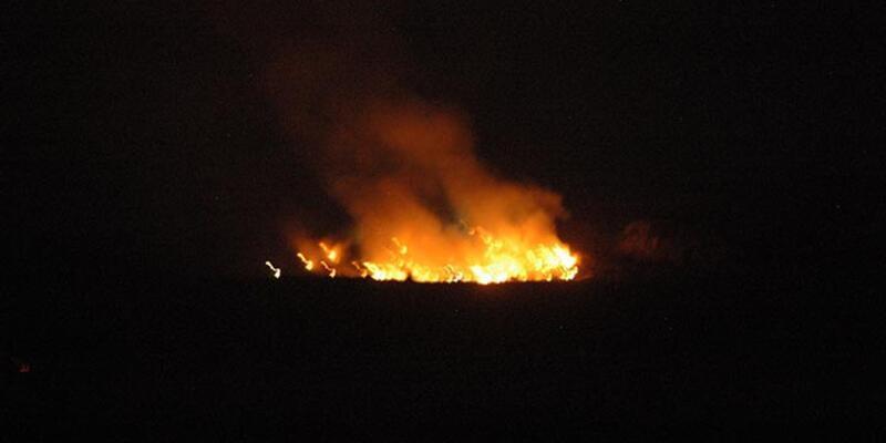 İzmir'de çöplük yangını 8 saatte kontrol altına alınabildi