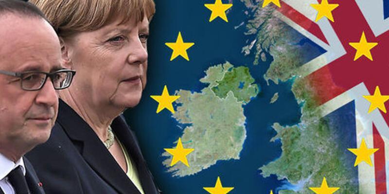 Merkel ve Hollande'dan ittifak kararı